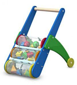 Melissa & Doug Rattle Rumble Push Toy